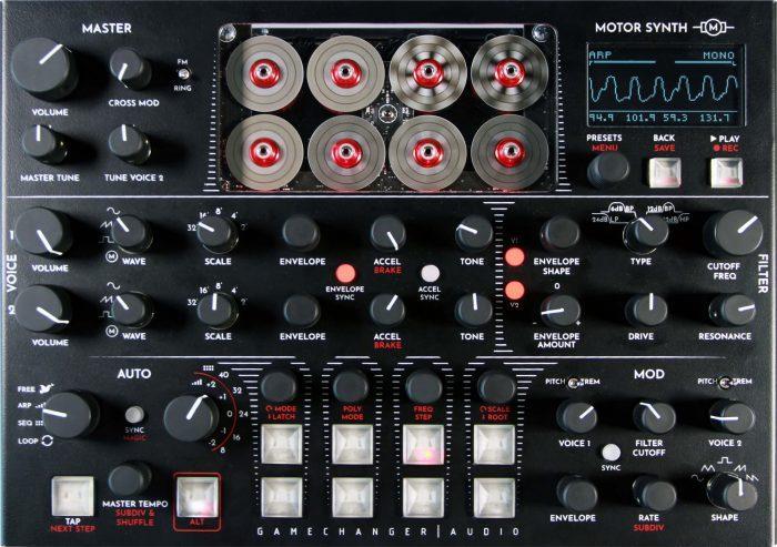 Gamechanger Audio Motor Synth top