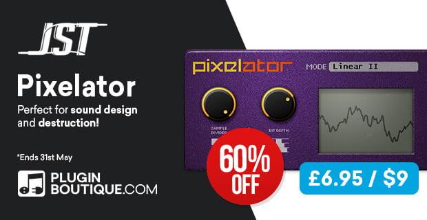JST Pixelator on sale for $9 USD