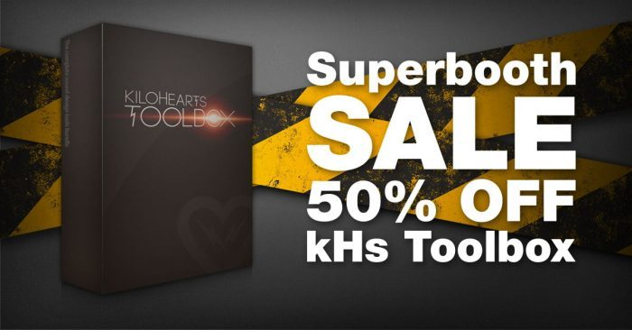 Kilohearts kHs Toobox 50 OFF Superbooth
