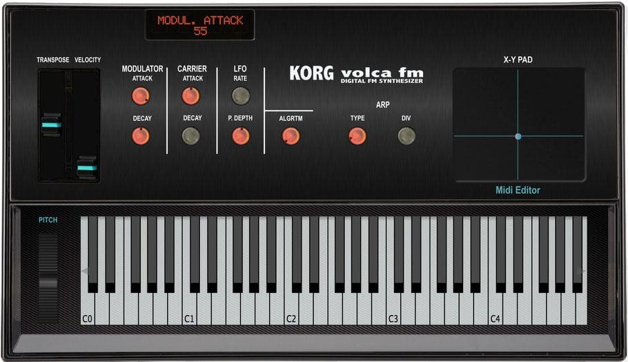 Momo releases Korg Volca FM Midi Editor plugin & standalone