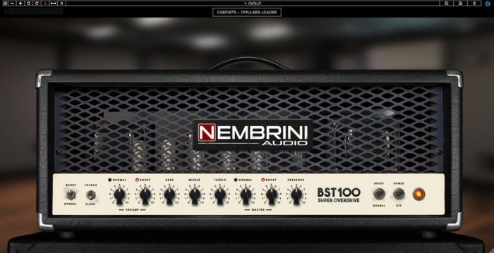 Nembrini Audio BST100 head