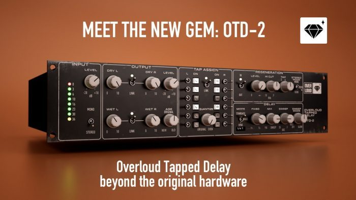 Overloud GEM OTD 2 Tapped Delay