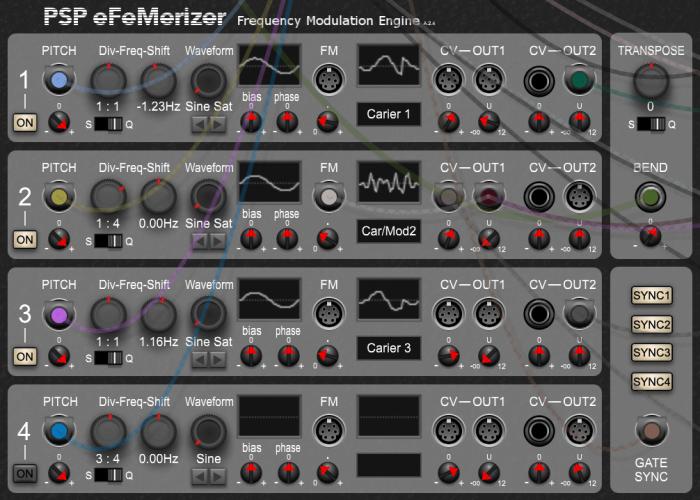 PSP eFeMerizer
