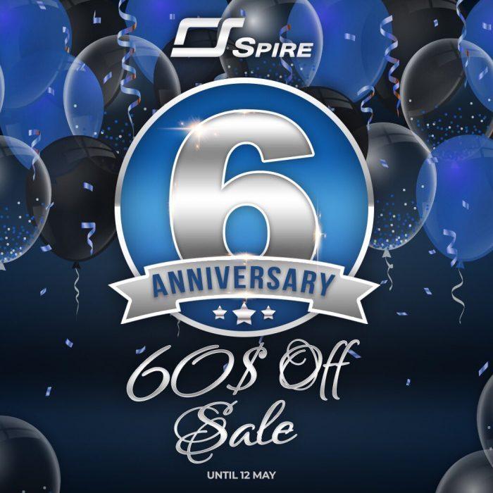 Reveal Sound Spire 6th anniversary