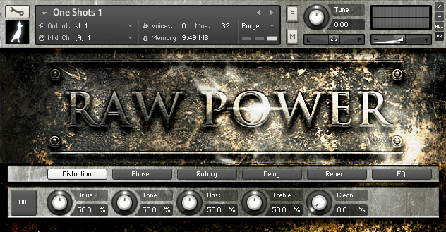 Download RAW Power Metallic Percussion by Riverwood Air for FREE