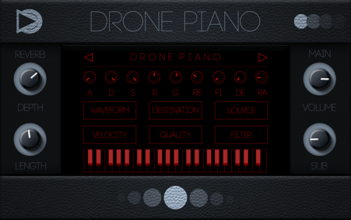 SampleScience Drone Piano