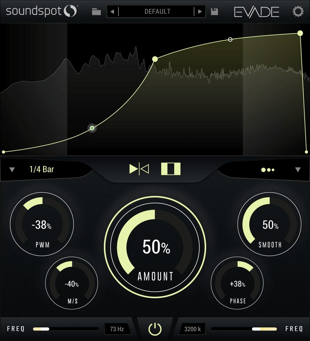 SoundSpot launches Evade volume shaping FX plugin at 70% OFF