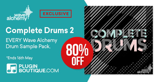 Get 80% OFFWave Alchemy Complete Drums 2