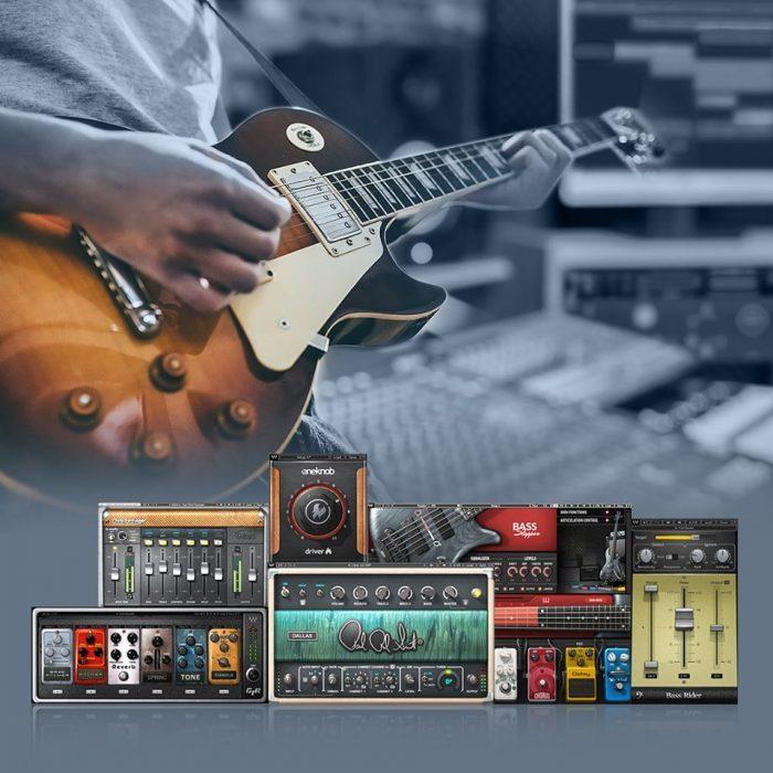 Waves Guitar Celebration Sale: Buy any 2 plugins, choose 1 guitar