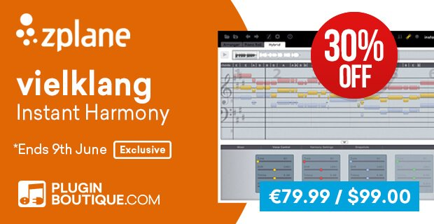 zplane vielklang 30% OFF at Plugin Boutique