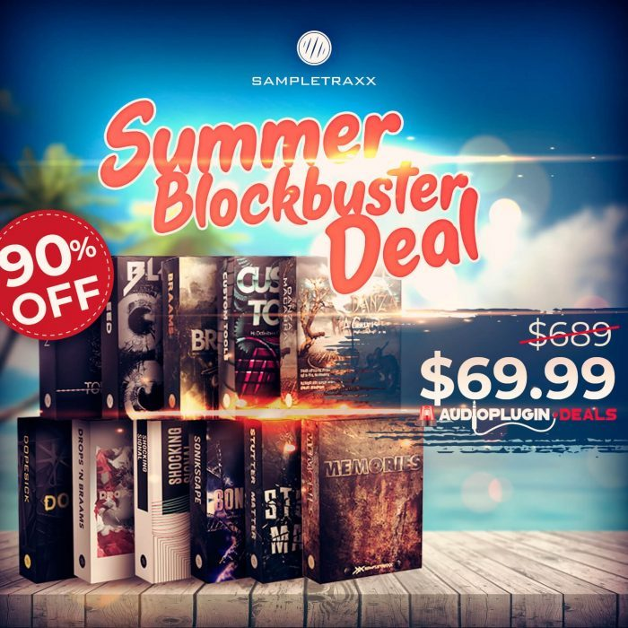 APD Sampletraxx Summer Blockbuster Deal
