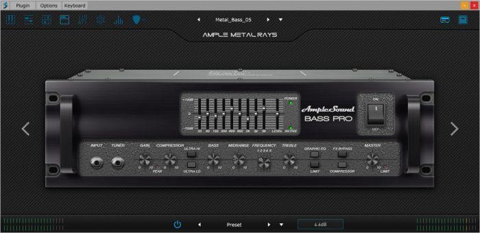 Ample Sound Bass pro amp