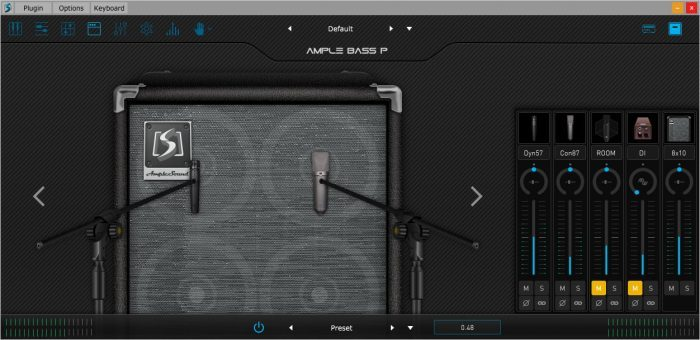 Ample Sound Cab and mics 2