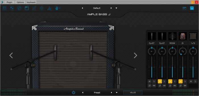 Ample Sound Cab and mics