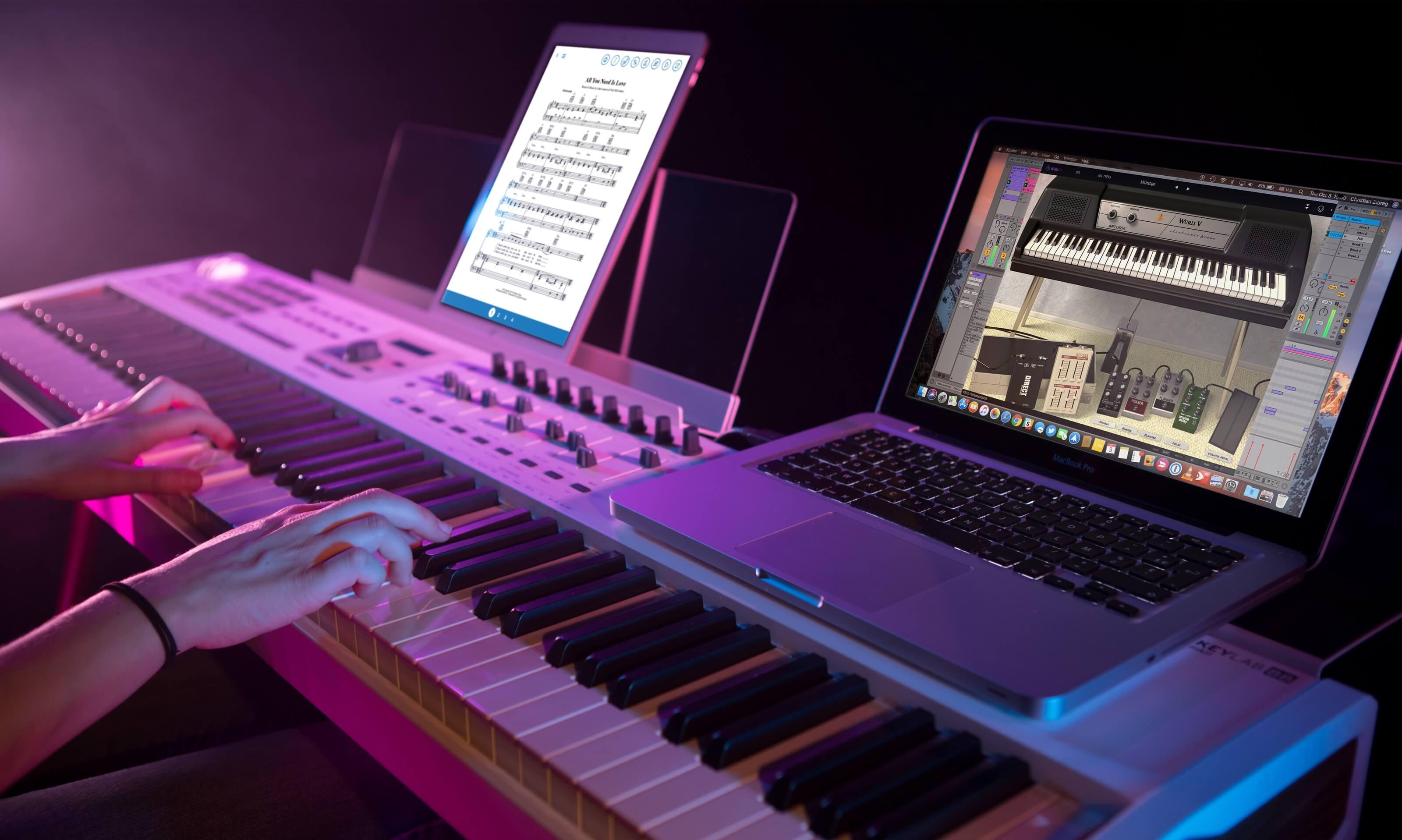 arturia announces keylab 88 mkii controller keyboard