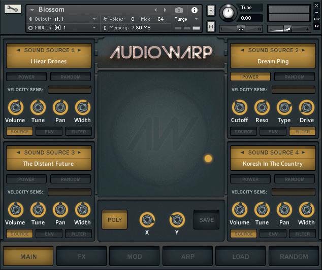Audiowarp Blossom