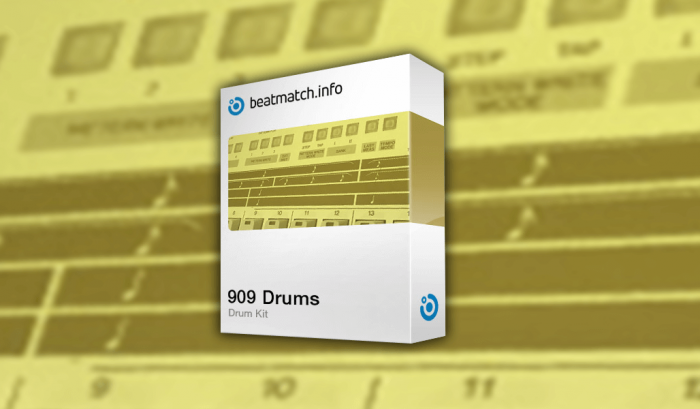 Beatmatch 909 Drums Drum Kit