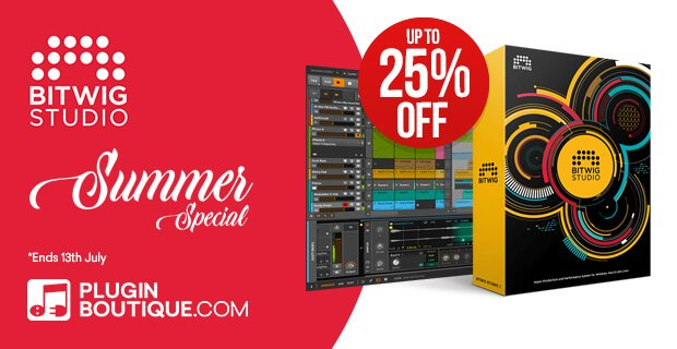 Bitwig Summer Sale 2019