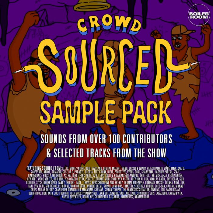 Boiler Room Crowdsourced Sample Pack
