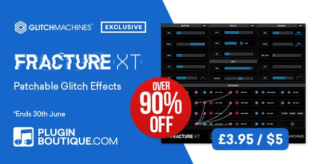 Glitchmachines Fracture XT on sale for 5 USD