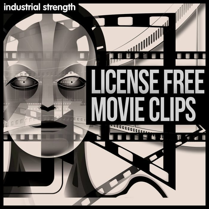 Industrial Strength License Free Movie Clips