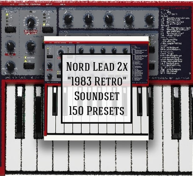 LFO Store Nord Lead 2x 1983 Retro