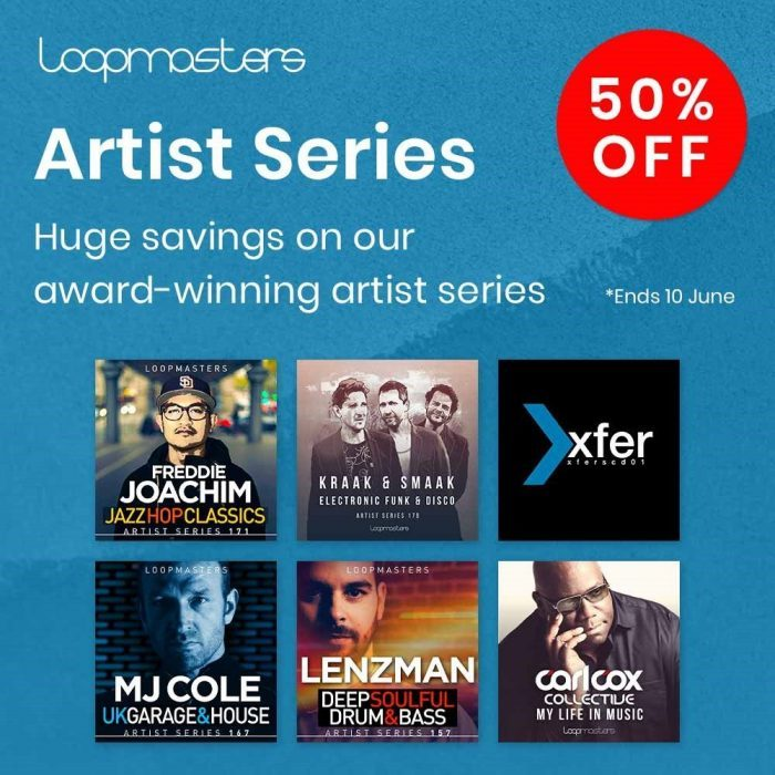 Loopmasters Artist Series 50 OFF Sale