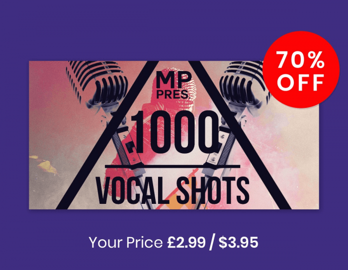 Loopmasters MP 1000 Vocal Shots