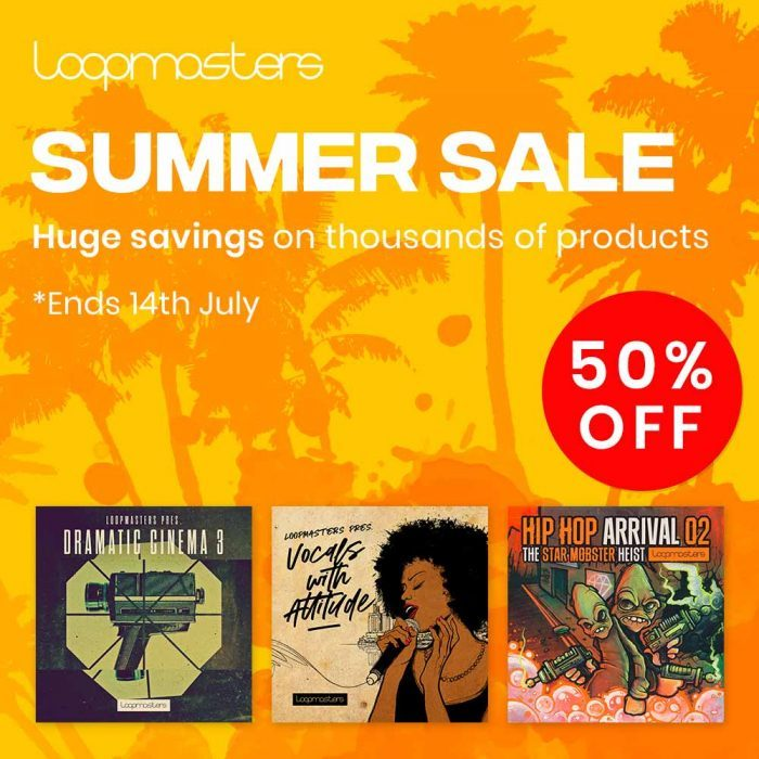 Loopmasters Summer Sale 2019