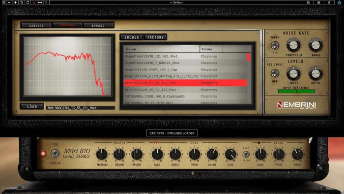 Nembrini Audio MRH810 Lead Series IR Full