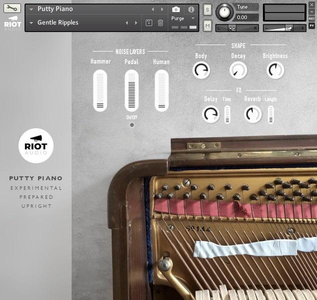 Riot Audio Putty Piano Kontakt