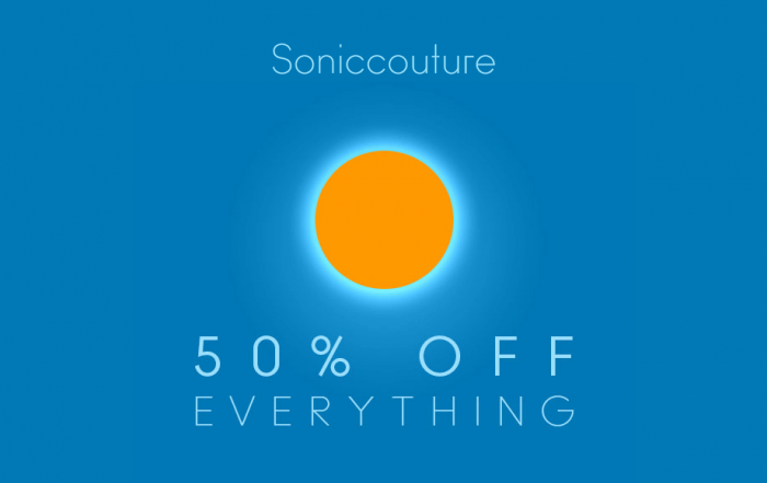 Soniccouture 50 OFF Midsummer Sale