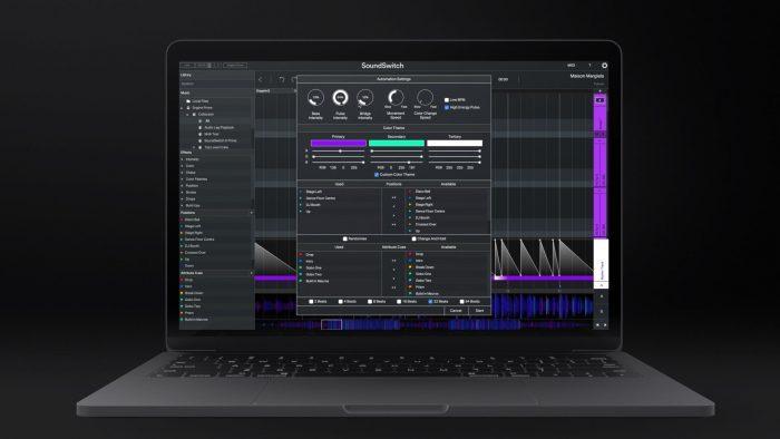 SoundSwitch Laptop Automation