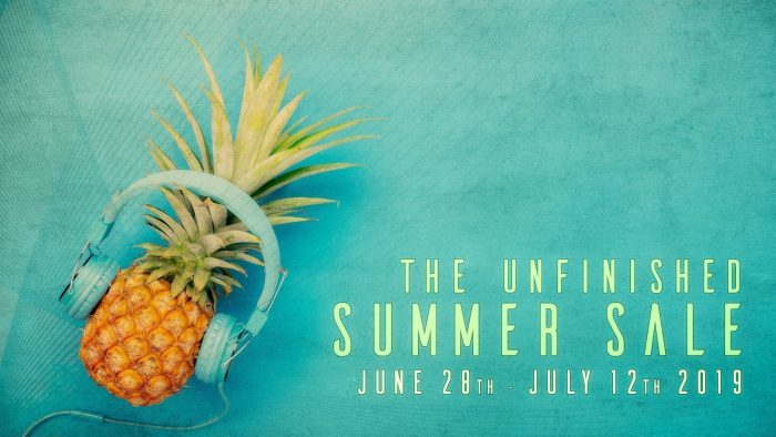 The Unfinished Summer Sale 2019