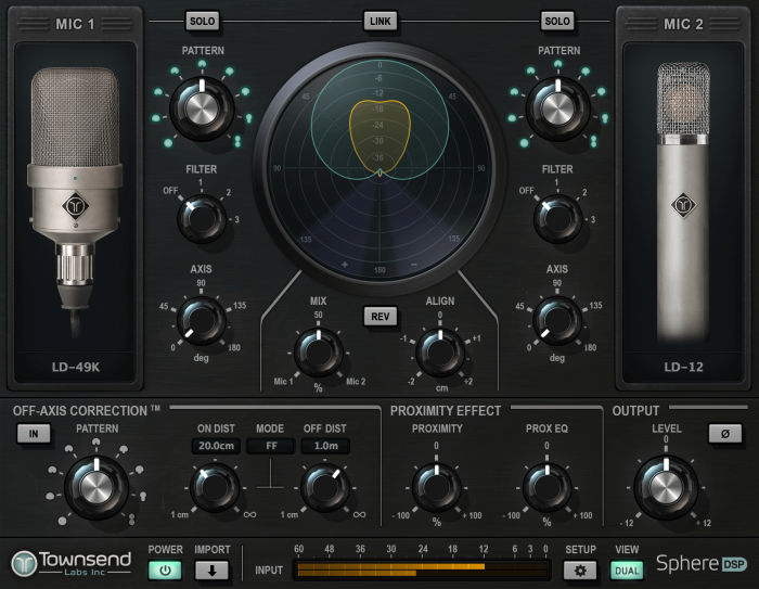 Townsend Labs Sphere Plugin Dual Mode LD49 LD12