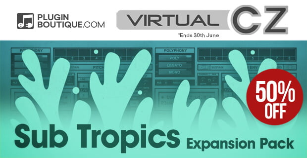 VirtualCZ Sub Tropics 50% OFF