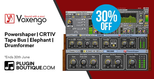 Get 30% off Voxengo plugins in June