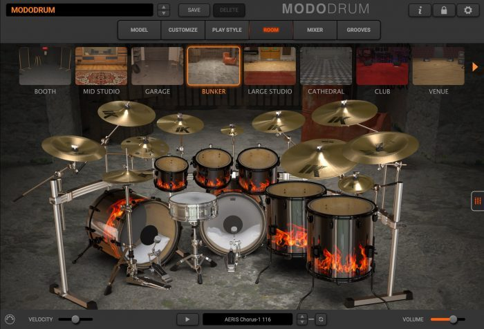 modo drum room bunker