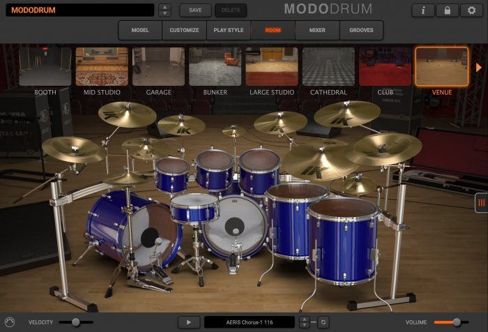 modo drum room venue