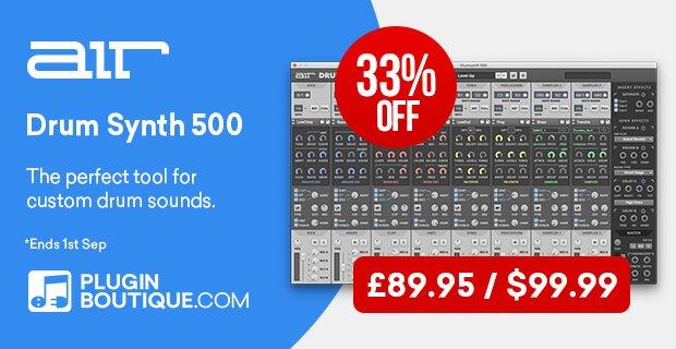 AIR Drum Synth 500 sale