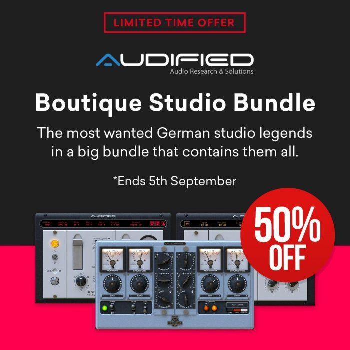 Audified Boutique Studio Bundle 50 OFF