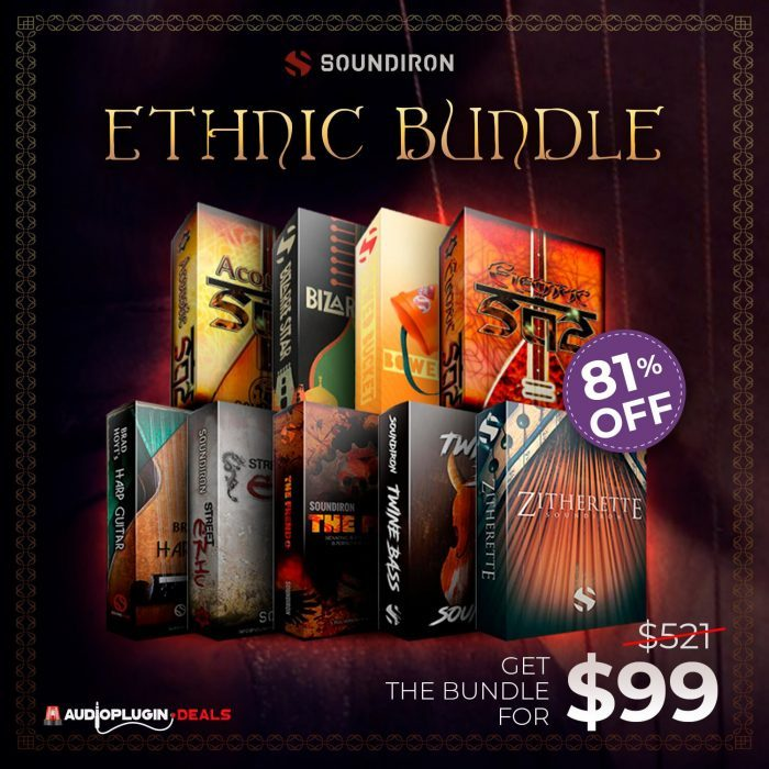 Audio Plugin Deals Soundiron Ethnic Strings Bundle