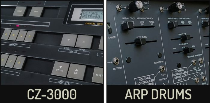 Cluster Sound CZ-3000 and ARP Drums sale