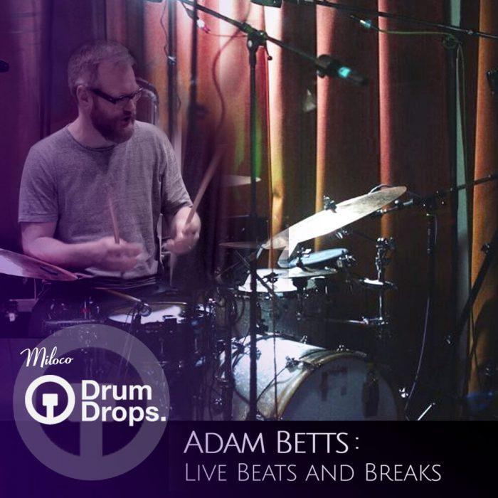 Drumdrops Adam Betts Live Beats and Breaks