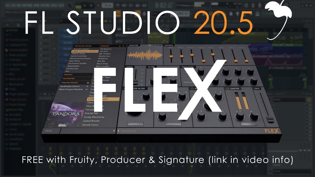 Image-Line releases FL Studio 20 5 incl  FLEX synthesizer