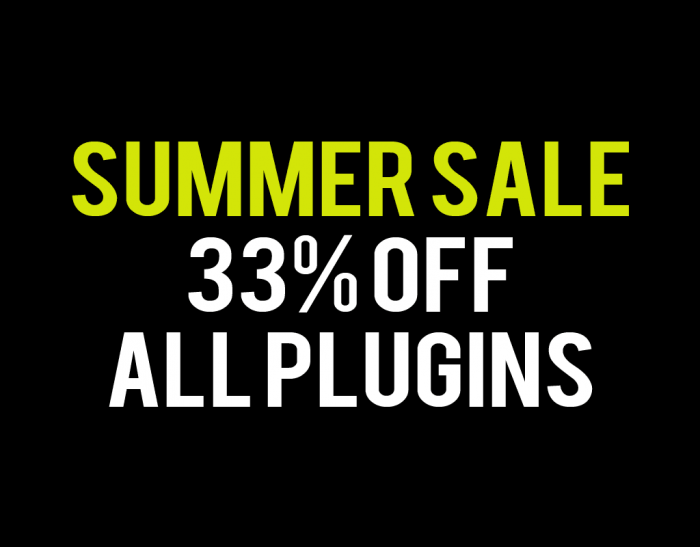 Fuse Audio Labs Summer Sale