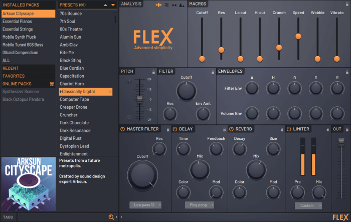 Image Line FLEX synth
