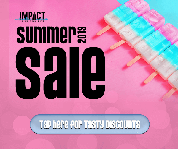 Impact Soundworks Summer Sale 2019