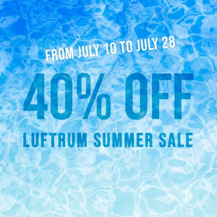 Luftrum Summer Sale 2019
