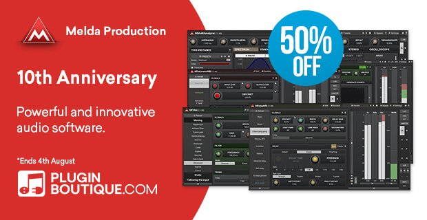 Meldaproduction 10th Anniversary 50 OFF
